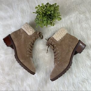 NWOT Sole Society Jacenia Boots/Booties 8.5 / 39